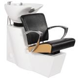 Kadeřnický mycí box GABBIANO SEVILLA černo-zlatý (AS)