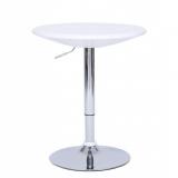 Barový stolek HC-180 bílý (V)