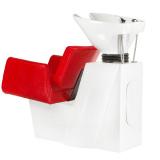 Kadeřnický mycí box VITO BM-509 červená