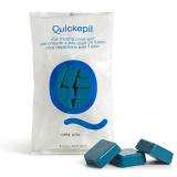 Tvrdý vosk na depilaci QUICKEPIL modrý 1kg (AS)