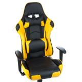 Herní židle RACER CorpoComfort BX-3700 žlutá