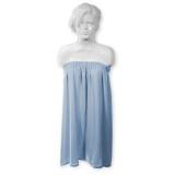 Kosmetická froté pelerína modrá (AS)