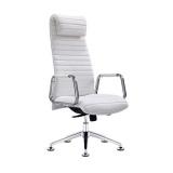 Kosmetická židle / křeslo RICO 186 bílé (AS)