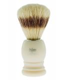 Štětka na holení z přírodních štětin MUEHLE - HJM bílá (B)