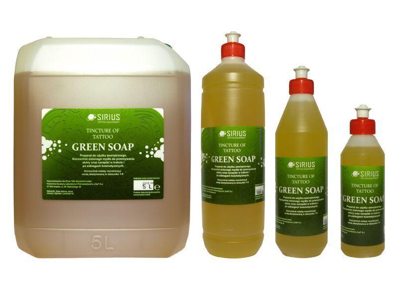 Zelené mýdlo SIRIUS GREEN SOAP - koncentrát 500ml (AT)