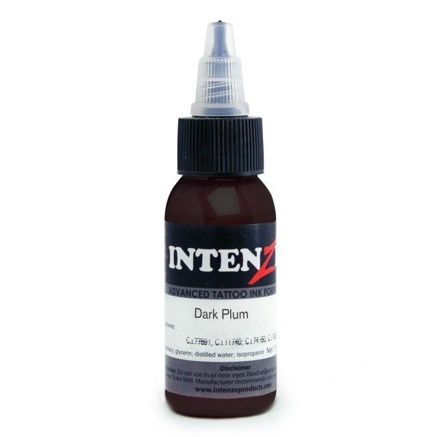 Tetovací barva Intenze Ink 30ml, Andy Engel - Dark Plum (K)