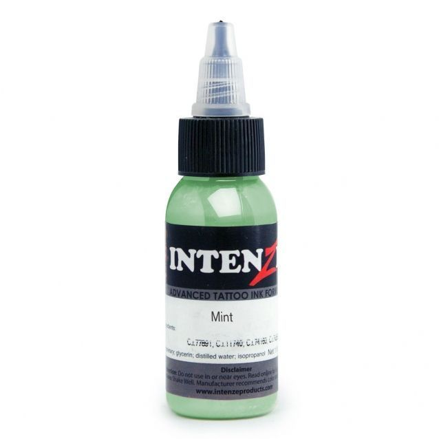 Tetovací barva Intenze Ink 30ml, Andy Engel - Mint (K)