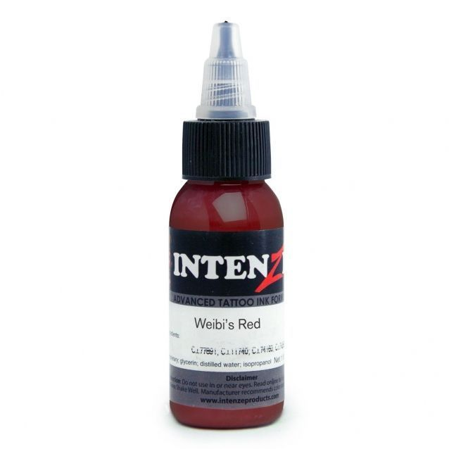Tetovací barva Intenze Ink 30ml, Andy Engel - Weibi's Red (K)