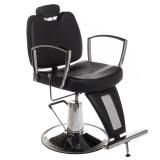 Barbers - holičské křeslo HOMER II BH-31275 černé (BS)