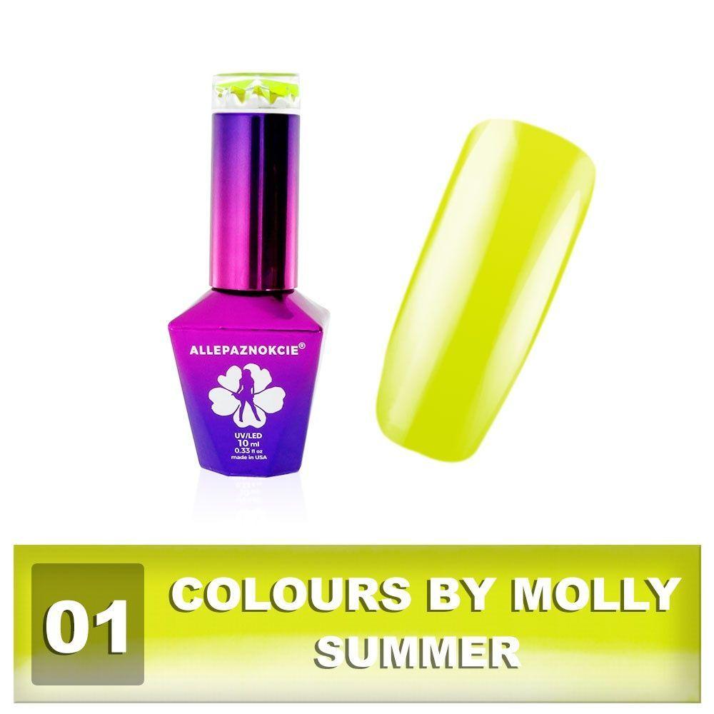 Gel lak Colours by Molly 10ml - Summer