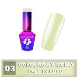 03 Gel lak Colours by Molly 10ml - Fall in Love (A)