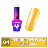 04 Gel lak Colours by Molly 10ml - Paradise (A)