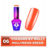 06 Gel lak Colours by Molly 10ml - Hollywood Dream (A)