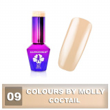 09 Gel lak Colours by Molly 10ml - Coctail (A)