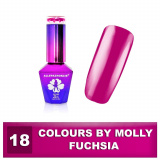18 Gel lak Colours by Molly 10ml - Fuchsia (A)