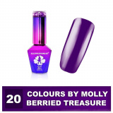 20 Gel lak Colours by Molly 10ml - Berried Treasure (A)