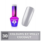30 Gel lak Colours by Molly 10ml - Coconut (A)