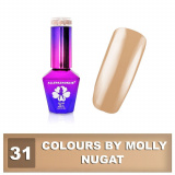 Gel lak Colours by Molly 10ml - Nugat