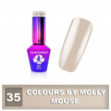 35 Gel lak Colours by Molly 10ml - Mouse (A)