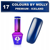 17 Gel lak Colours by Molly PREMIUM 10ml -ICELAND- (A)