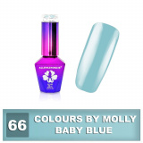 66 Gel lak Colours by Molly 10ml - Baby Blue (A)