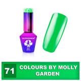 71 Gel lak Colours by Molly 10ml - Garden (A)