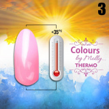 Gel lak Colours by Molly Thermo 03 - 10ml (A)