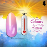 Gel lak Colours by Molly Thermo 04 - 10ml