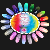 Gel lak Colours by Molly Thermo 12 - 10ml