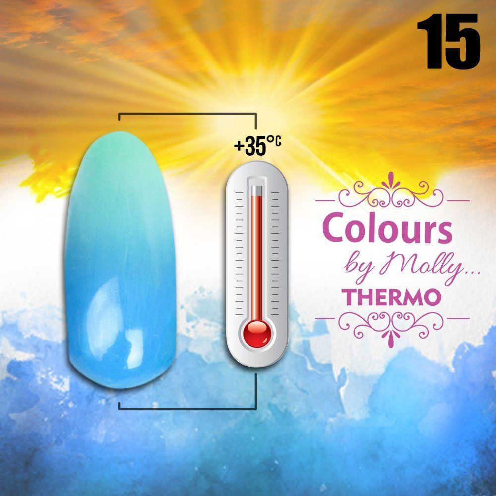 Gel lak Colours by Molly Thermo 15 - 10ml