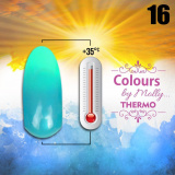 Gel lak Colours by Molly Thermo 16 - 10ml (A)