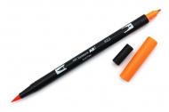 Oboustranné pero - TOMBOW oranžové (K)
