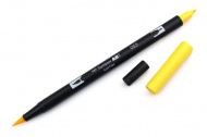 Oboustranné pero - TOMBOW žluté (K)