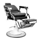 Barbers křeslo GABBIANO PRINCE černé