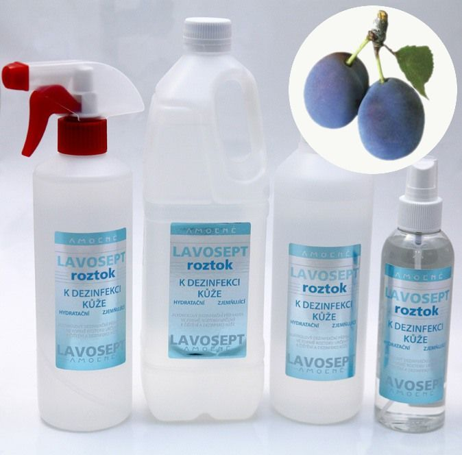 Lavosept® roztok - dezinfekce 500 ml (náhradní náplň) - aroma trnky