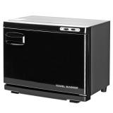 Ohřívač ručníků s UV-C sterilizátorem černý (AS)