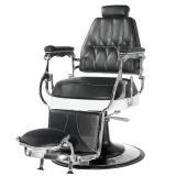 Barbers - holičské křeslo GABBIANO LORD černé