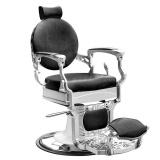 Barbers - holičské křeslo GABBIANO PRESIDENT černé