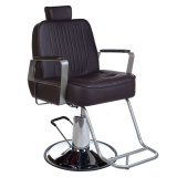 Barbers - holičské křeslo HOMER BH-31237 hnědé (BS)