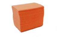 Skládané lékařské ubrousky s fólií 33x48 - 50ks meruňka (EU)