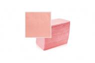 Skládané lékařské ubrousky s fólií 33x48 - 50ks růžové (EU)