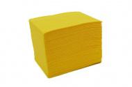 Skládané lékařské ubrousky s fólií 33x48 - 50ks žluté (EU)