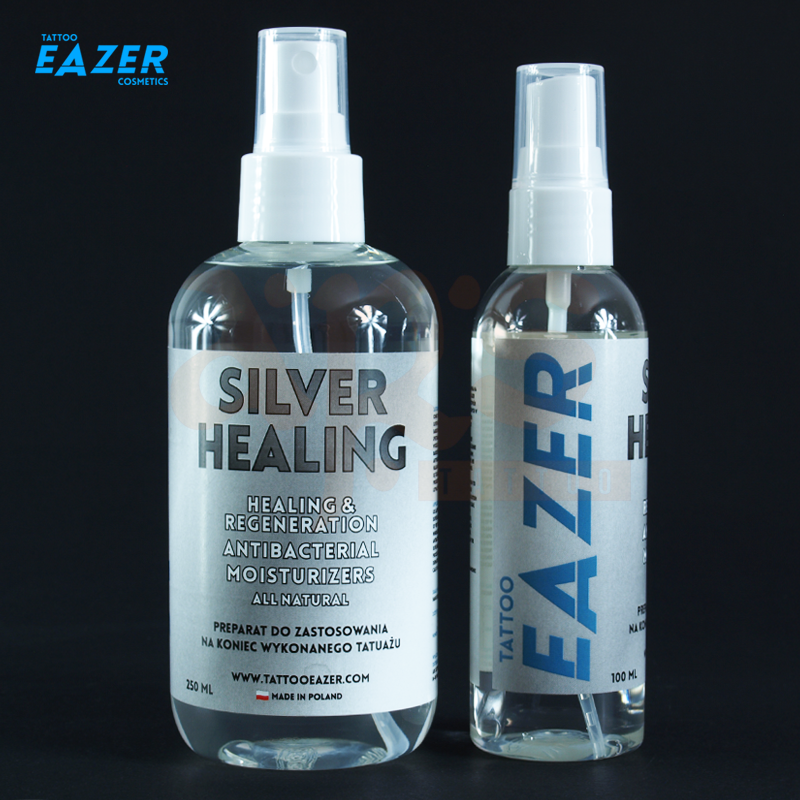 TATTOO EAZER FINISH - SILVER HEALING 100ml