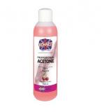 Kosmetický aceton (odstraňovač gelu) 100ml - višeň