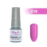 216.NTN Premium Led gel lak na nehty 6 ml (A)