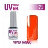 71.UV gel lak na nehty hybridní VIVID TANGO 6 ml (A)