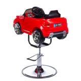 Dětská holičská židle Range Rover červená