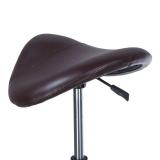 Kosmetická stolička RODEO BD-9909 hnědá