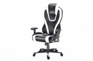 Herní židle CHAMPION - bílá