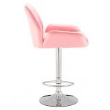 Barová židle 949w růžová